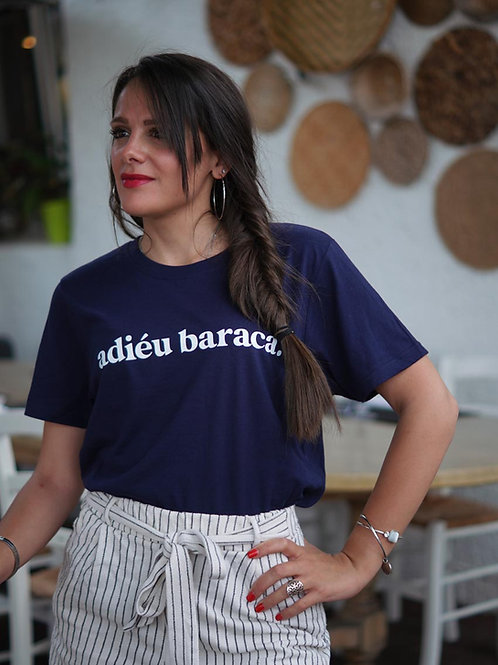 Adiéu Baraca - T-shirt unisexe Marine