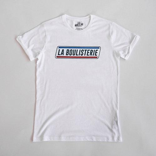 T Shirt Petanque La Boulisterie Original Made in France Bleu Blanc Rouge Tricolore