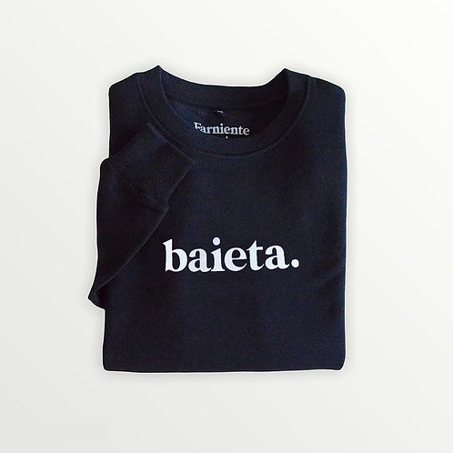 Baieta - Sweatshirt unisexe Marine