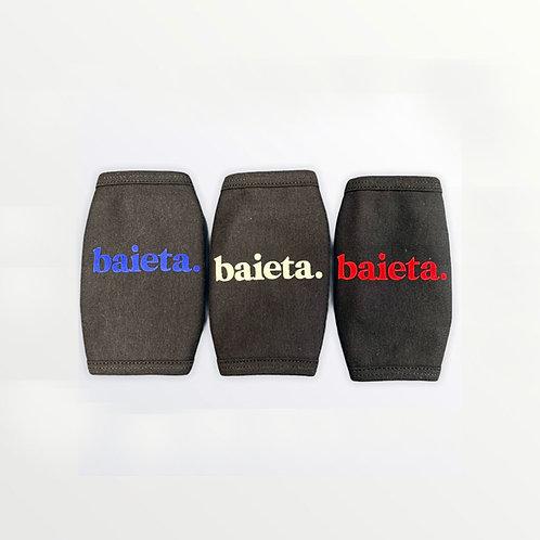Baieta - Pack de 3 masques noirs adulte
