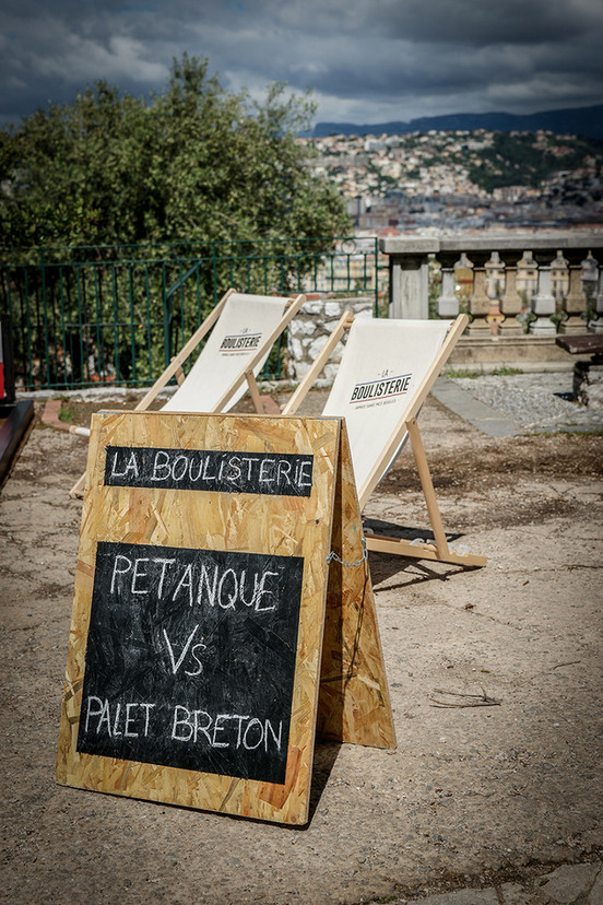 Pétanque Vs Palet Breton