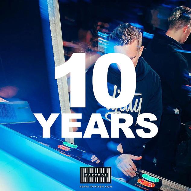 DJ Misterhustla 10 years