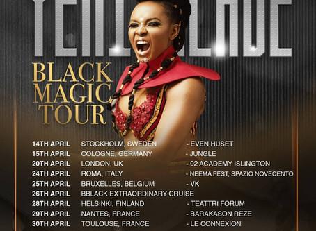 DJ Misterhustla Warming Up For Nigerian Afrobeats Superstar Yemi Alade