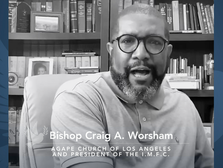 Ministers For Peace Bishop Craig A. Worsham