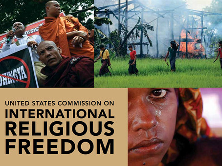 U.S. Commission on International Religious Freedom Holds Hearing on Religious Freedom