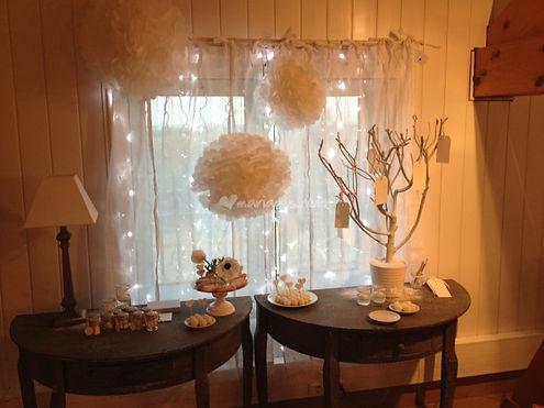 Exemple de décoration de mariage