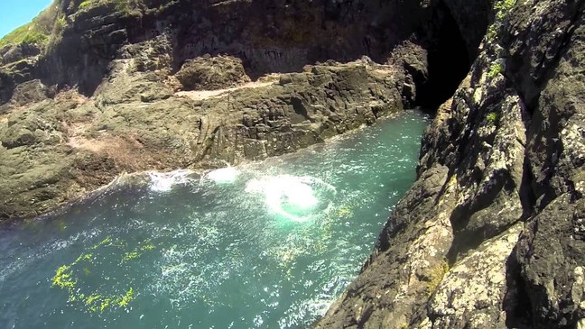 Fry's Cave in Kiama or the fear of the unknown
