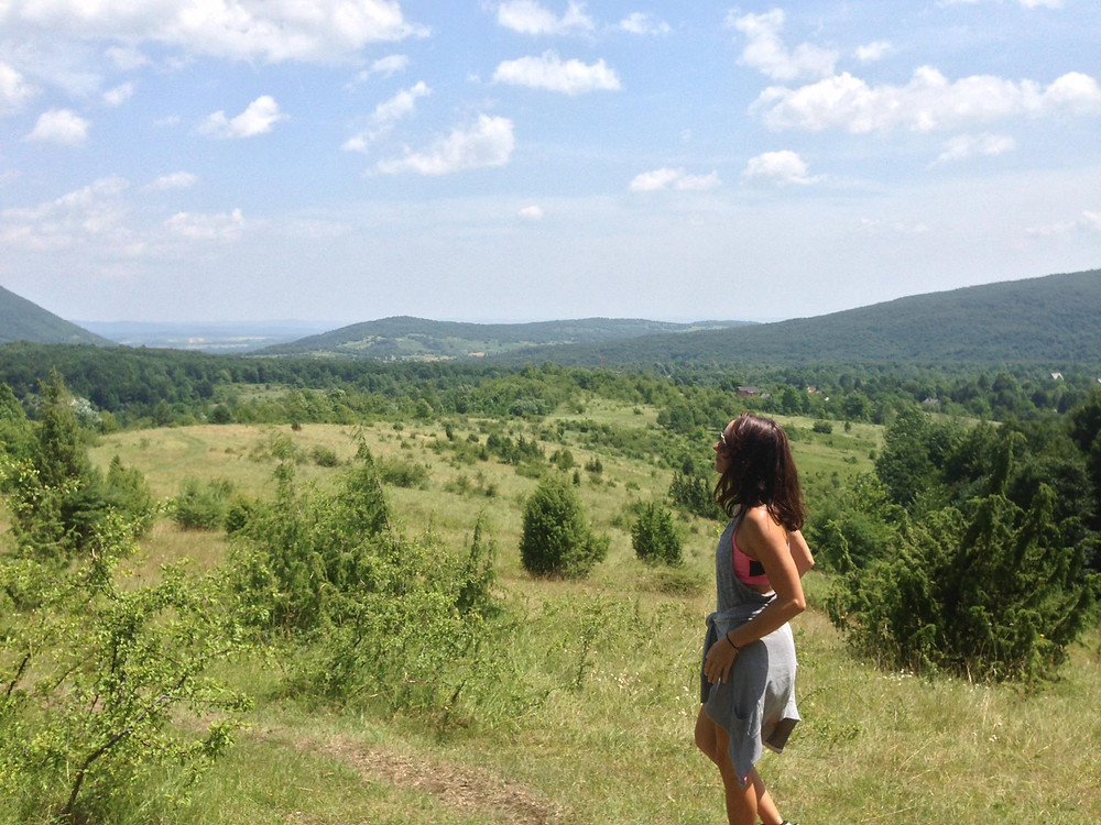 landscape, 1 person