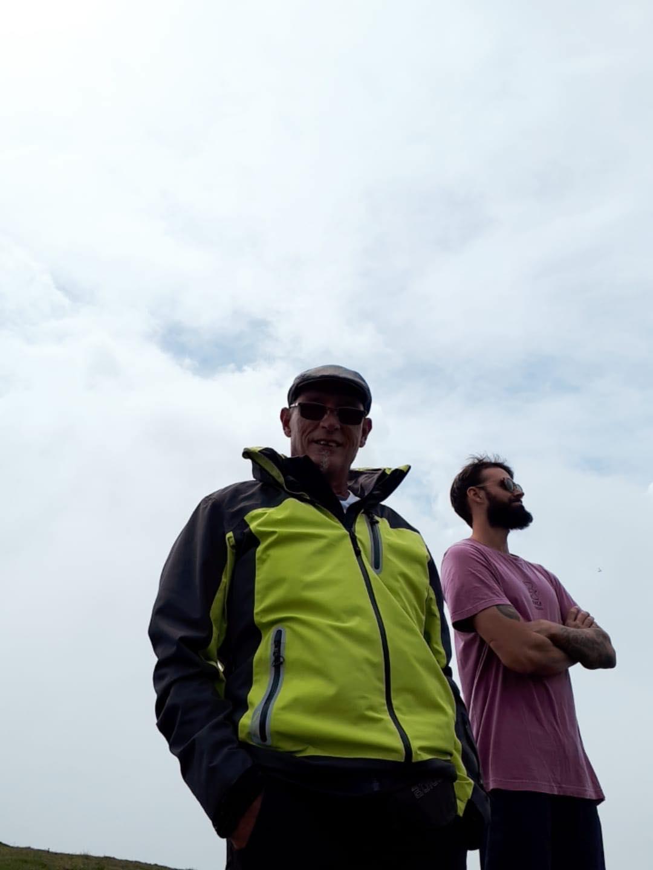And we're hiking again
