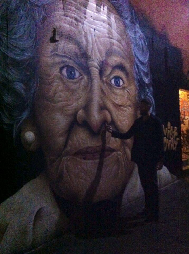 street art queen