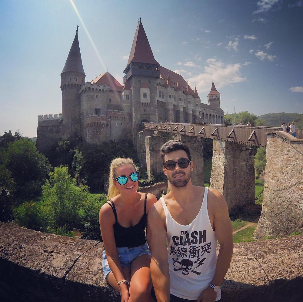 2 people, castle