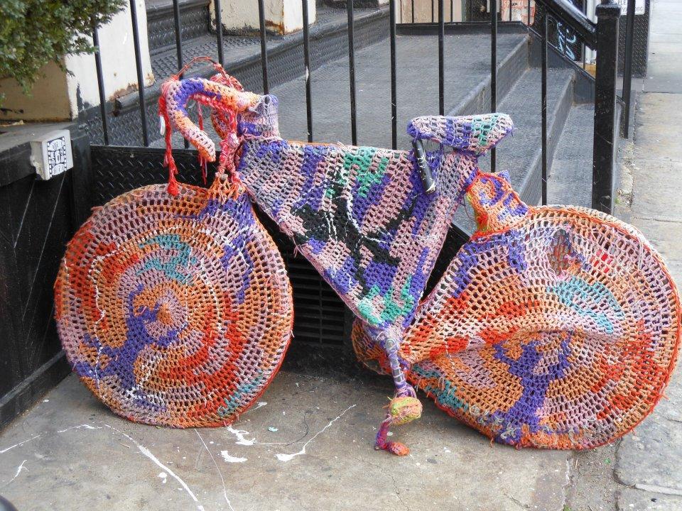 Bike knitted