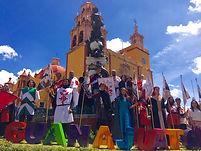 University of Guanajuato stairs