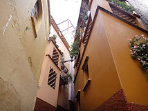 Alley of the Kiss in Guanajuato, MX