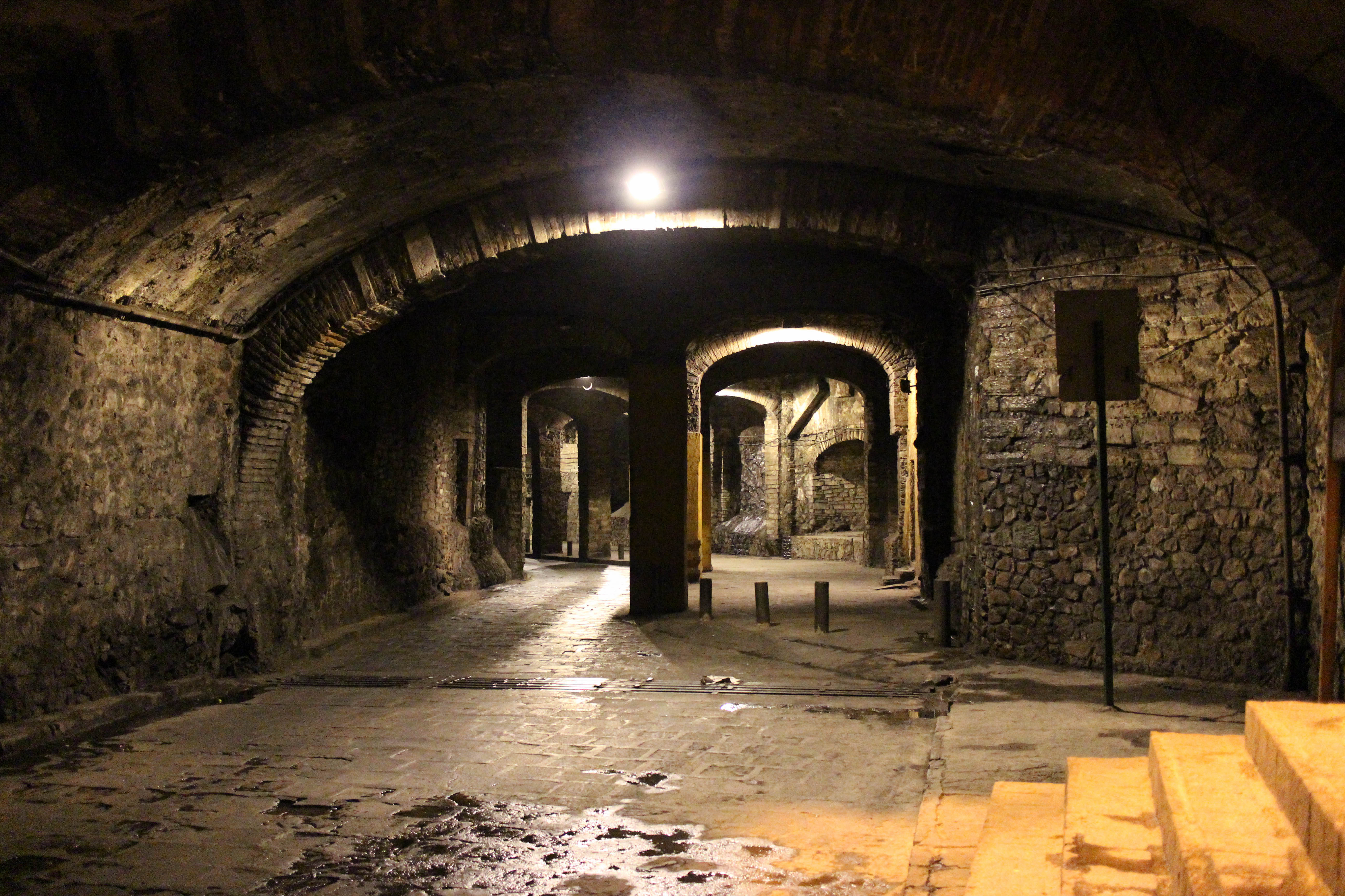 Underground road tunnels Guanajuato