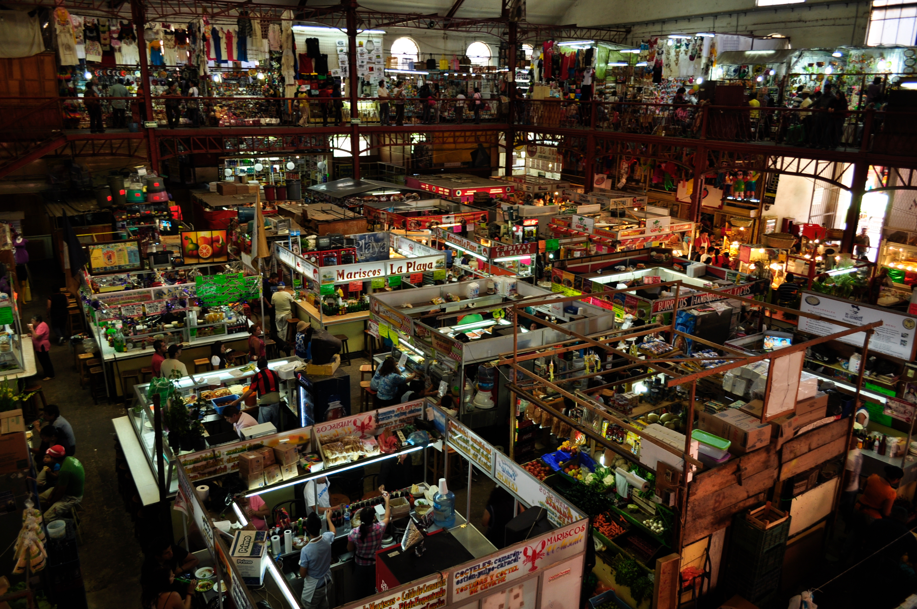 The Hidalgo Market in Guanajuato, MX