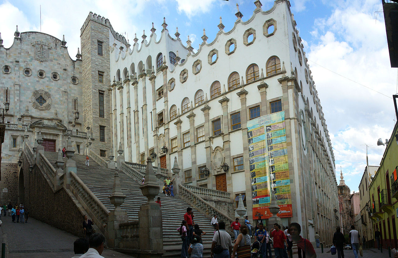 University of Guanajuato stairs
