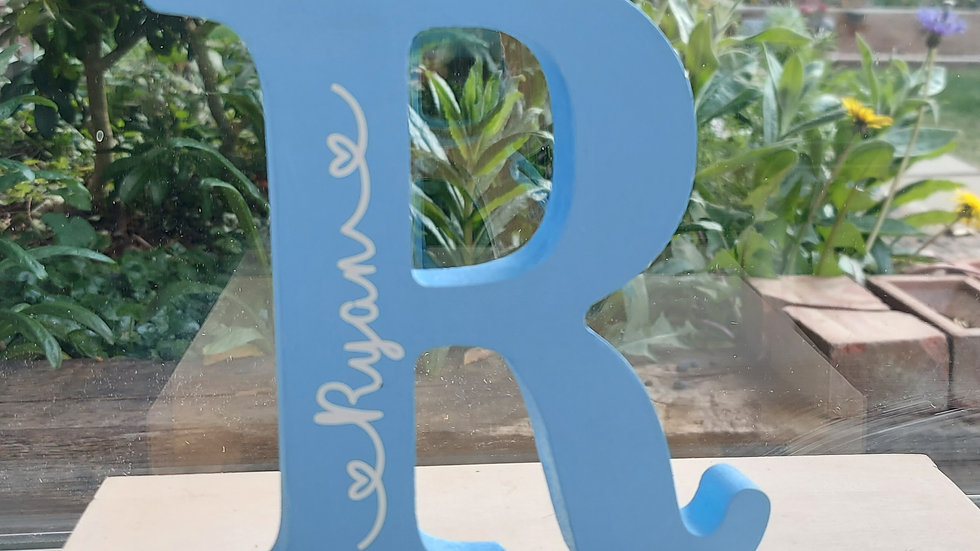 Freestanding Painted Letters/Numbers - MDF