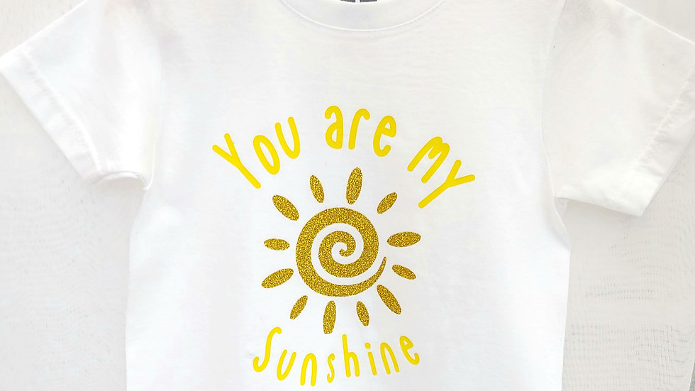 You are my Sunshine Baby and kids Tshirt