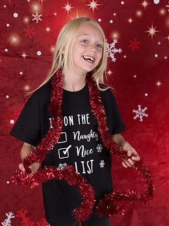 Christmas Naughty List T-shirt