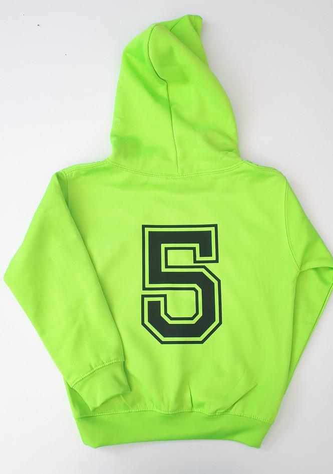 Fluorescent Green Hoodie