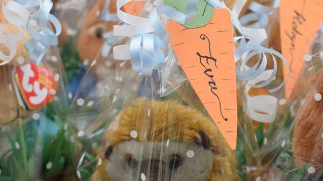 Handmade Carrot Shape Gift Tags