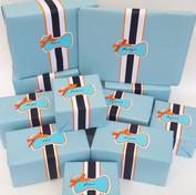 Little man 1st Birthday Giftwrap