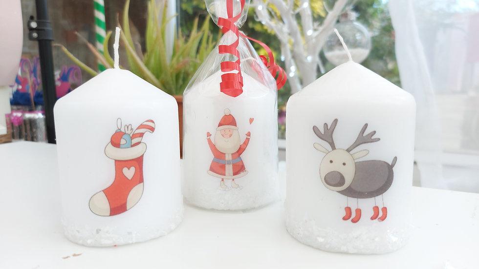 Christmas Candles - Fun designs
