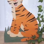 Freestanding tiger