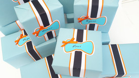 1st Birthday Giftwrap