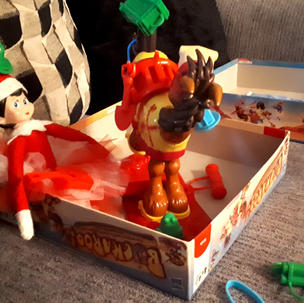 Elf on the Shelf and board games