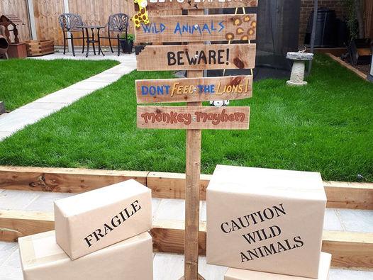 Jungle Sign post