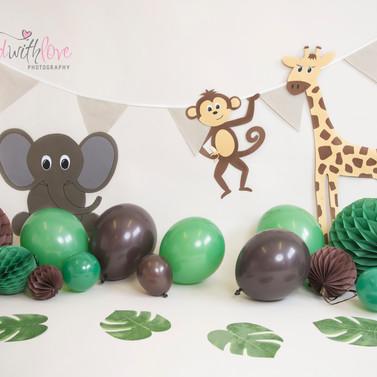 Handmade Jungle animals