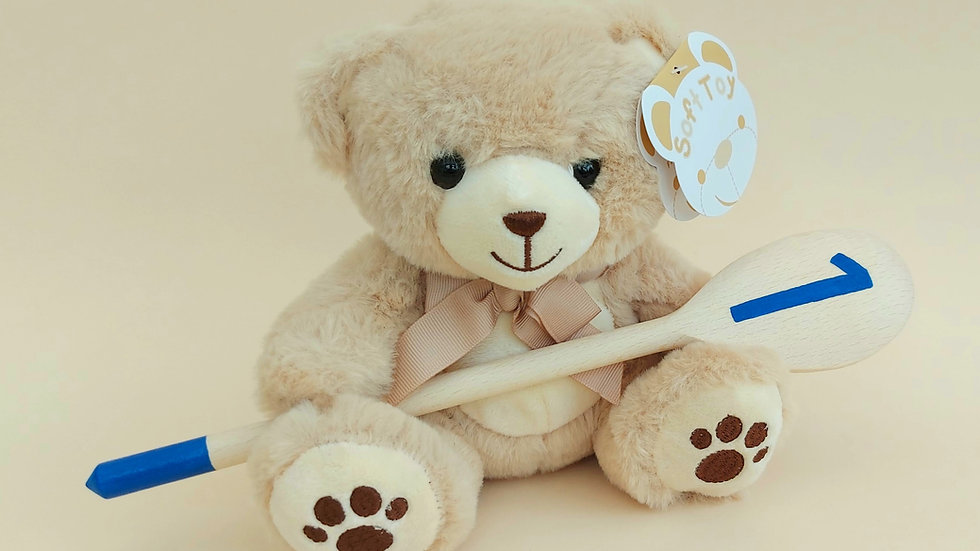 Bear with Cake Smash Spoon gift set