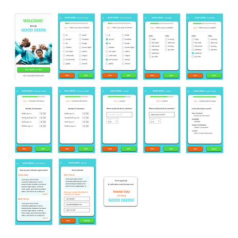 portfolio-project-volunteer-app-screensh
