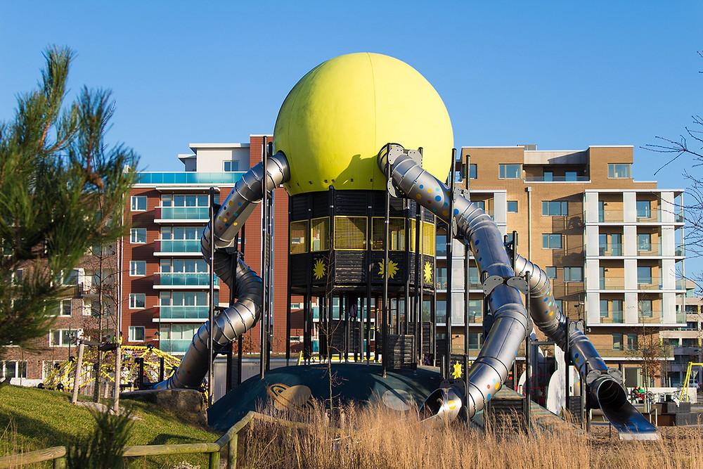 Tornet på sollekplatsen i Malmö
