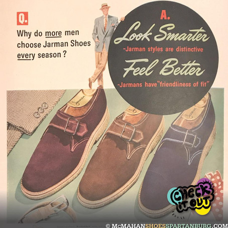Retro Shoe Advertising!