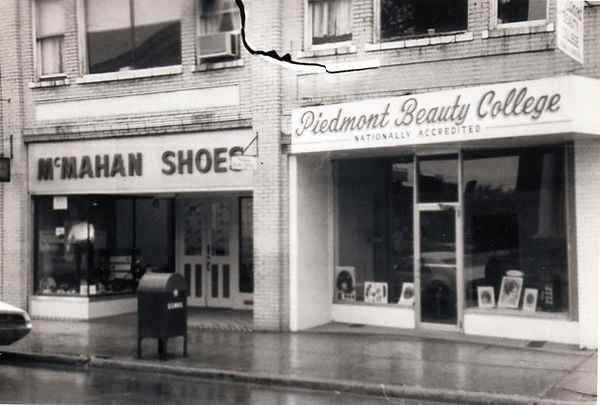 McMahan Shoes 1969 BandW Piedmont Beauty