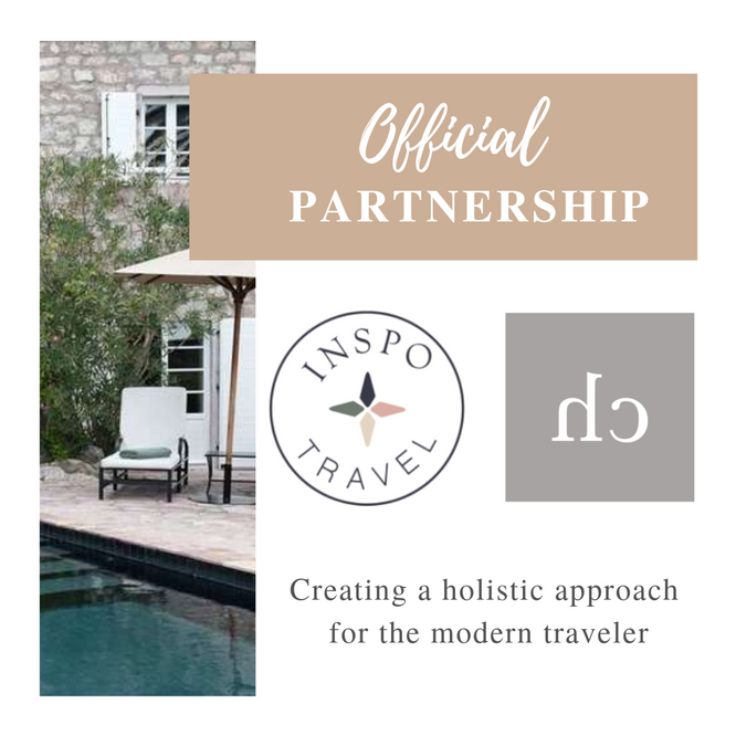 My official partnership with Inspo Travel ✈️👟🌿