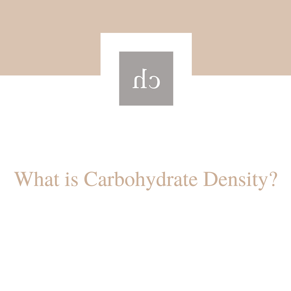 carbohydrate density