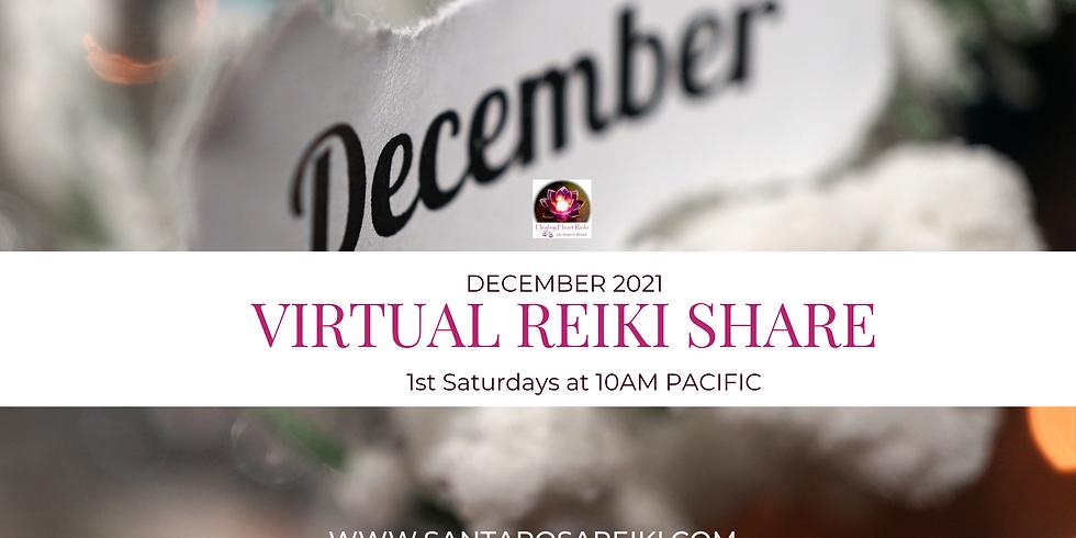 December Reiki Share