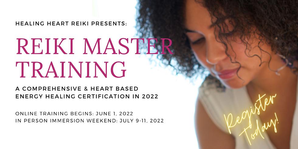 Reiki Master Training 2022
