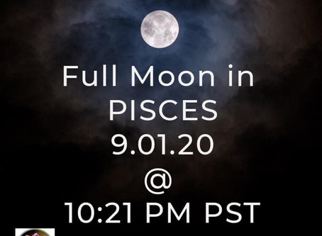 FULL MOON in Pisces