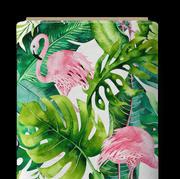 Palm flamant rose