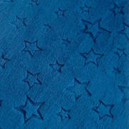 Minkee étoiles bleu marine