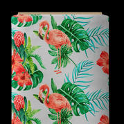 Flamant rose tropical