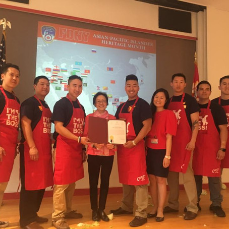CELEBRATING OUR LOCAL fdny HEROEs ON ASIAN PACIFIC AMERICAN HERITAGE MONTH
