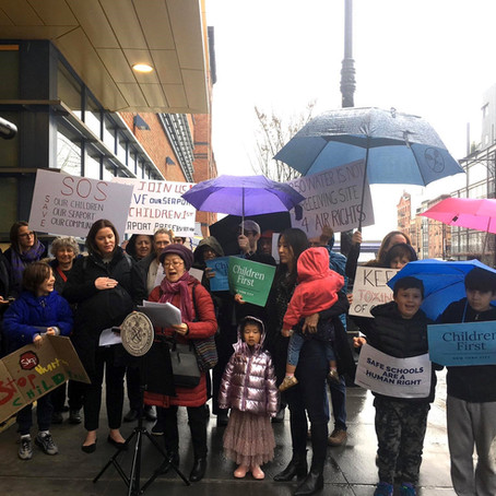 DOWNTOWN PARENTS CALL FOR CITY OVERSIGHT TO PROTECT CHILDREN FROM HARMFUL MERCURY POISONING