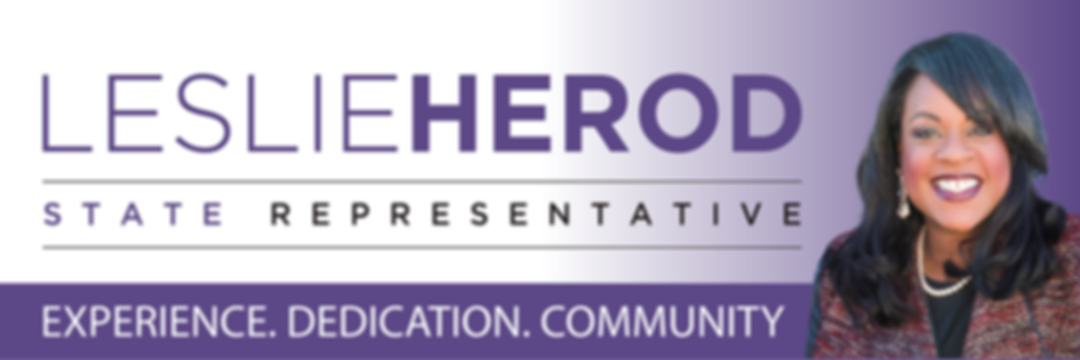 State Representative Leslie Herod - Experience, Dedication and Community