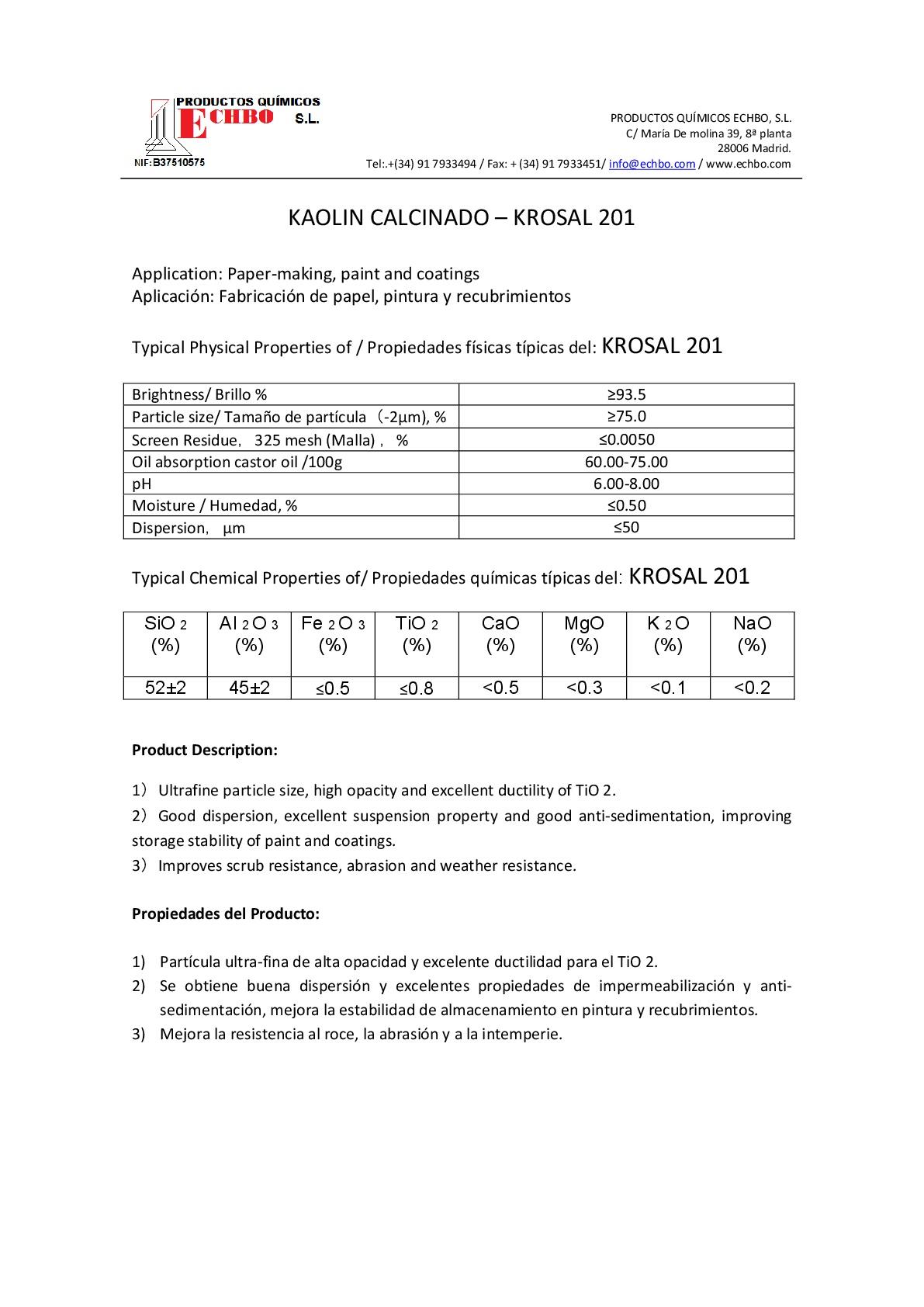 MDS KROSAL 201